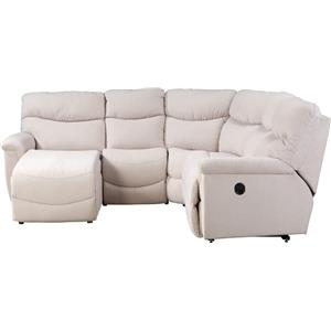 Four Piece Power Reclining Sectional Sofa with RAS Reclining Chaise