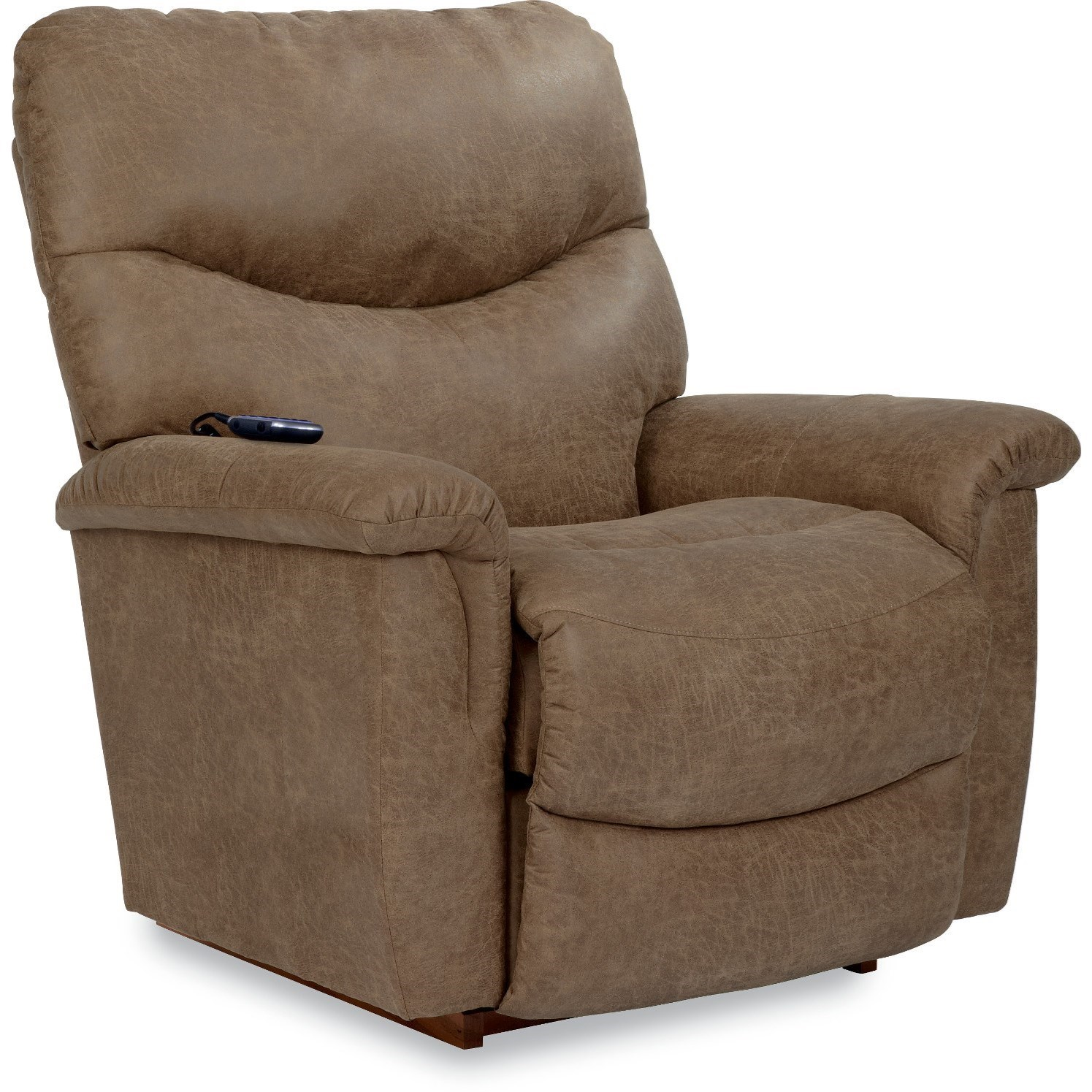 James Silver Power Lift Recliner by La-Z-Boy at Home Furnishings Direct