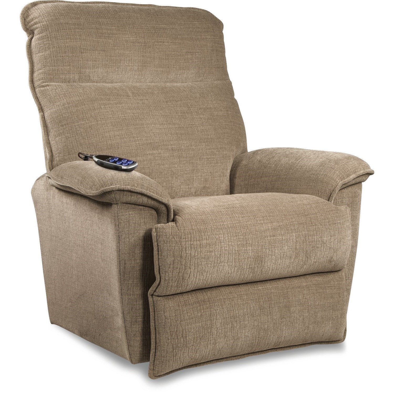 Jay Power Wall Recliner w/ Headrest & Lumbar by La-Z-Boy at Jordan's Home Furnishings