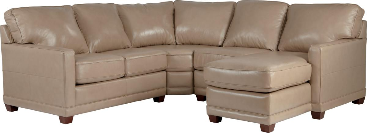 Kennedy Transitional Sectional Sofa by La-Z-Boy at Novello Home Furnishings