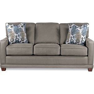 Transitional SUPREME-COMFORT? Queen Sleep Sofa