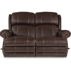 Traditional Space Saver Reclining Loveseat