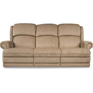 Traditional Space Saver Reclining Sofa