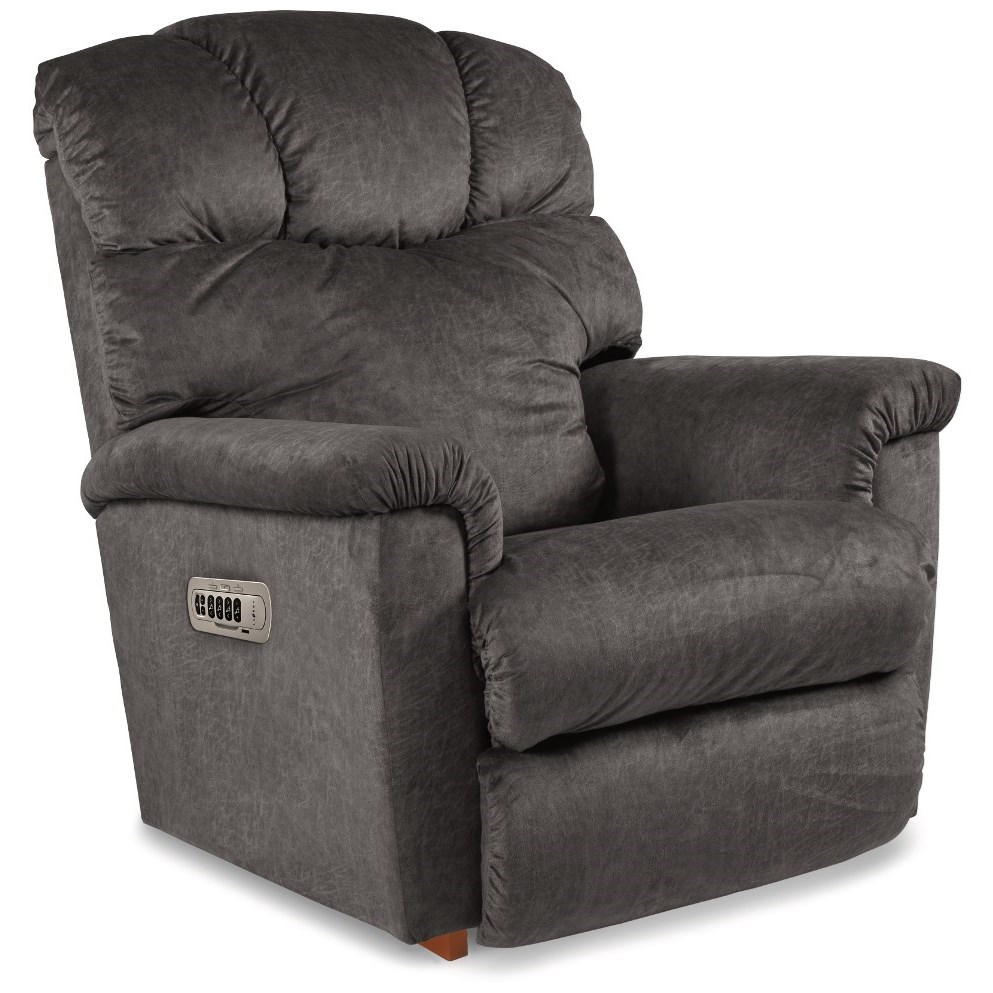 Lancer Power Rocking Recliner w/ Headrest by La-Z-Boy at Jordan's Home Furnishings