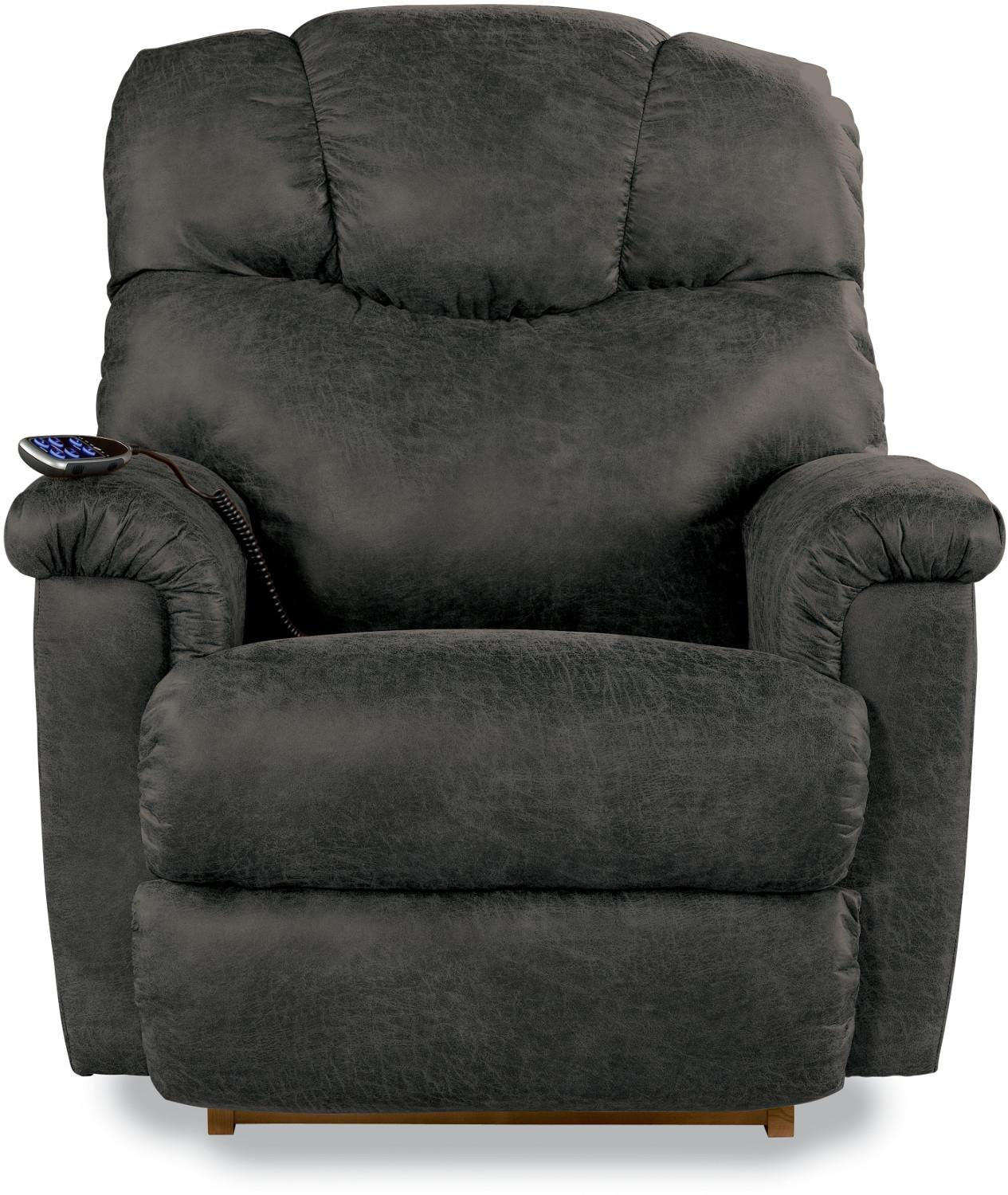 Lancer Power Rocking Recliner w/ Headrest by La-Z-Boy at Lynn's Furniture & Mattress