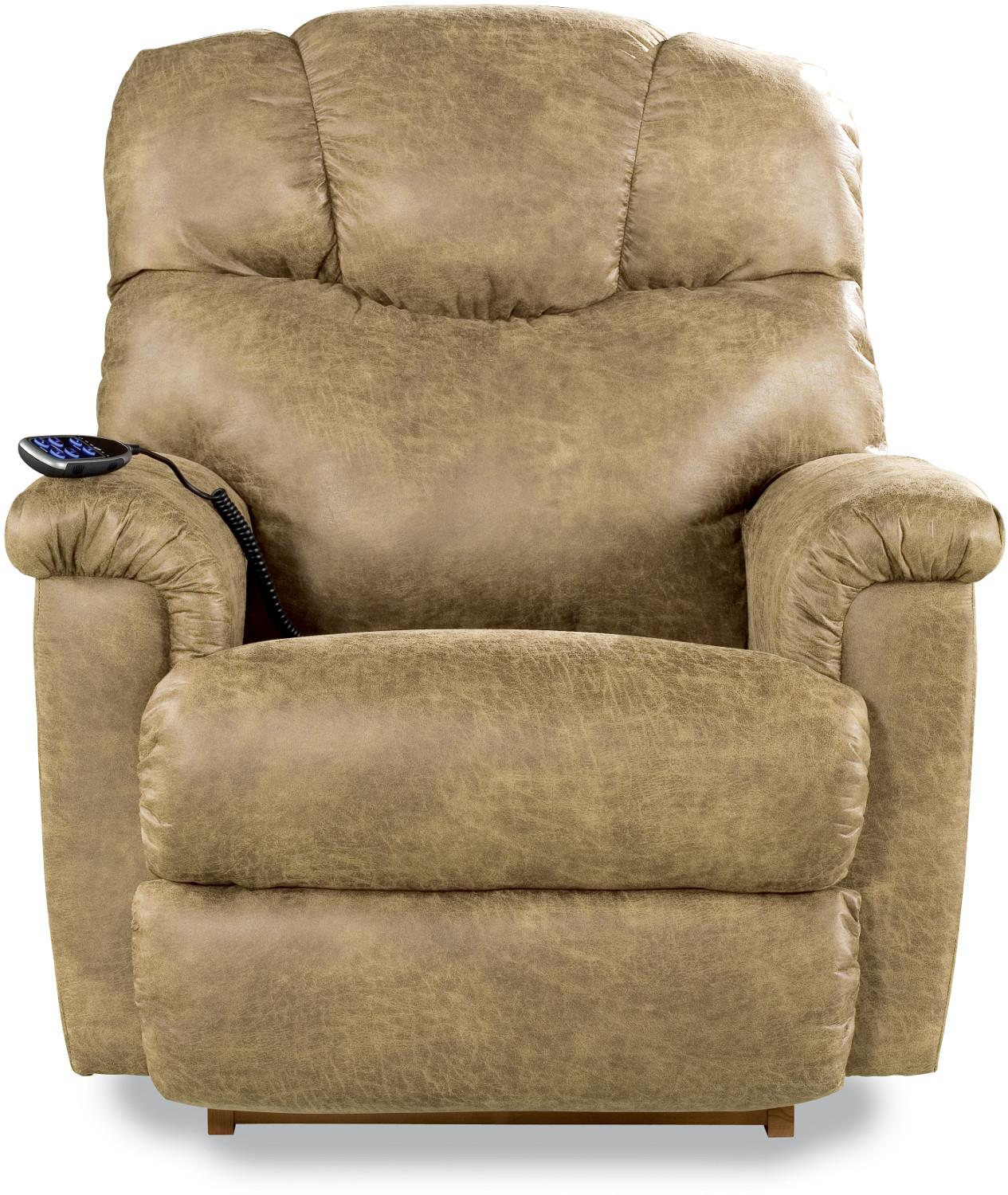Lancer Power Wall Recliner w/ Headrest & Lumbar by La-Z-Boy at Godby Home Furnishings