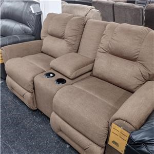 Last One! Power Loveseat with Console!