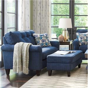 Oversized Chair and Ottoman Set