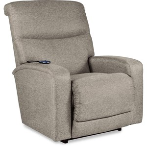 Contemporary PowerReclineXRw+ Wall Saver Recliner with Power Headrest and Power Lumbar