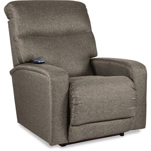 Contemporary Power-Recline-XR+ Rocker Recliner with Power Headrest and Power Lumbar