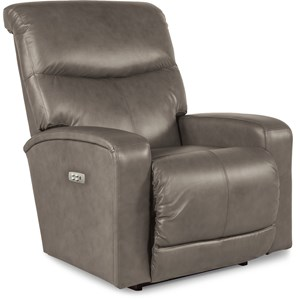 Contemporary Power-Recline-XR Rocker Recliner with USB Charging Port