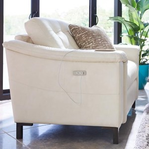 Duo Power Reclining Chair and a Half with USB Charging Port