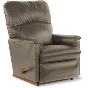 Leather RECLINA-ROCKER Recliner