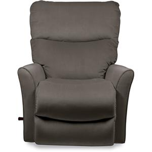 Small Scale Rocker Recliner with Flared Arms