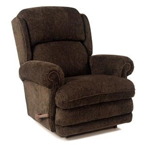 RECLINA-ROCKER® Recliner with Nailhead Studs