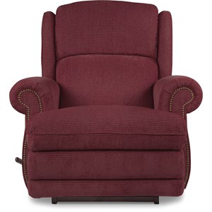 Kirkwood RECLINA-ROCKER® Recliner with Nailhead Studs