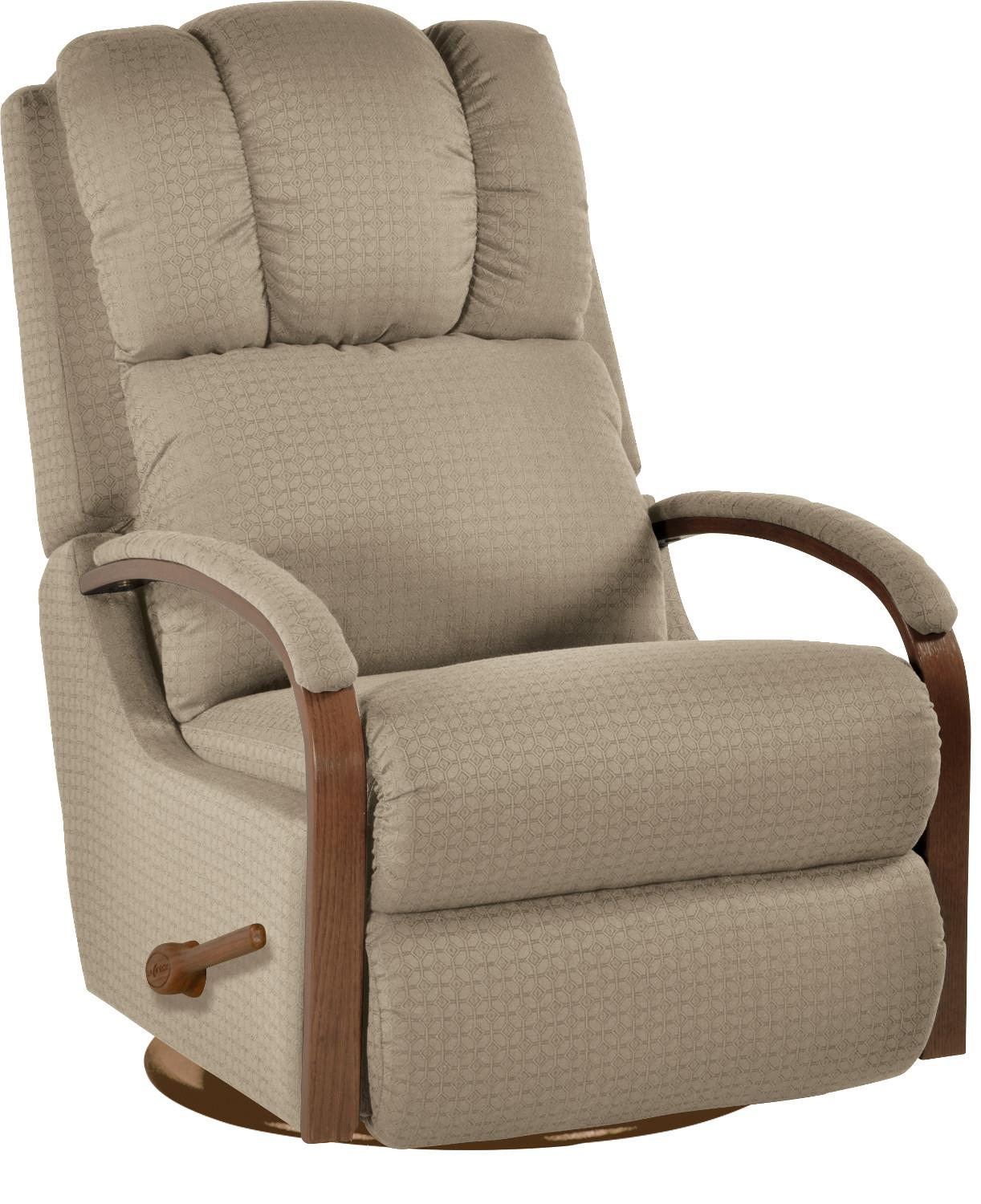 Recliners Swivel Glider Recliner by La-Z-Boy at Home Furnishings Direct