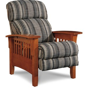 Eldorado High Leg Recliner with Three Position Mechanism