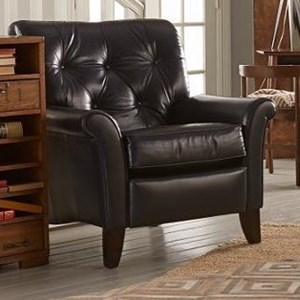 Thorne High Leg Recliner with Tufted Back