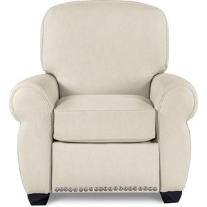 Emerson Power Hi-Leg Recliner with Nailhead Trim