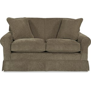 Apartment Size Sofa with Rolled Arms