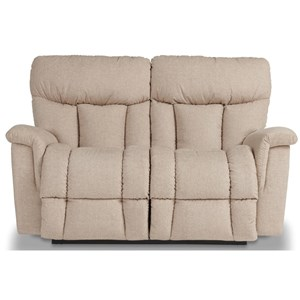 Power Reclining Loveseat w/ Headrest