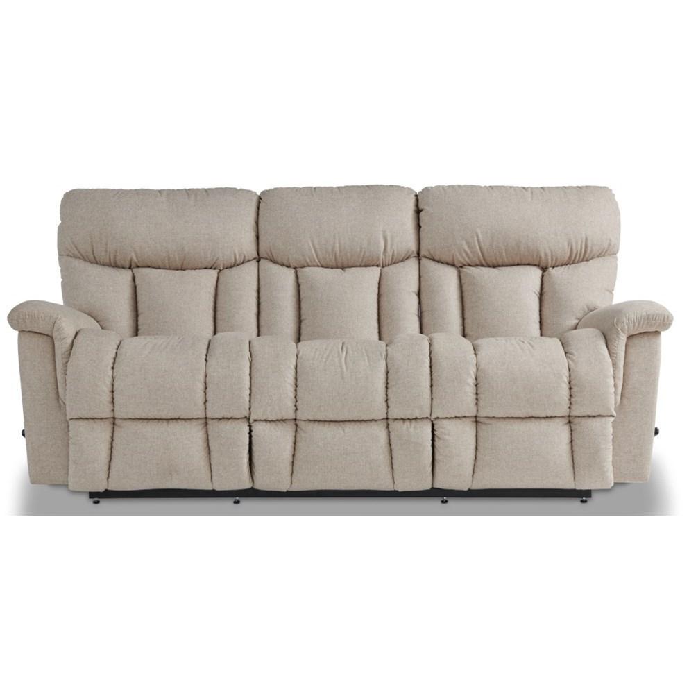 Mateo Power Wall Reclining Sofa w/ Headrest & Lumb by La-Z-Boy at Bullard Furniture