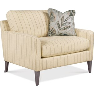 Mid-Century Modern Chair & a Half