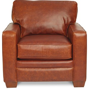 Contemporary Chair with Premier ComfortCore Cushion