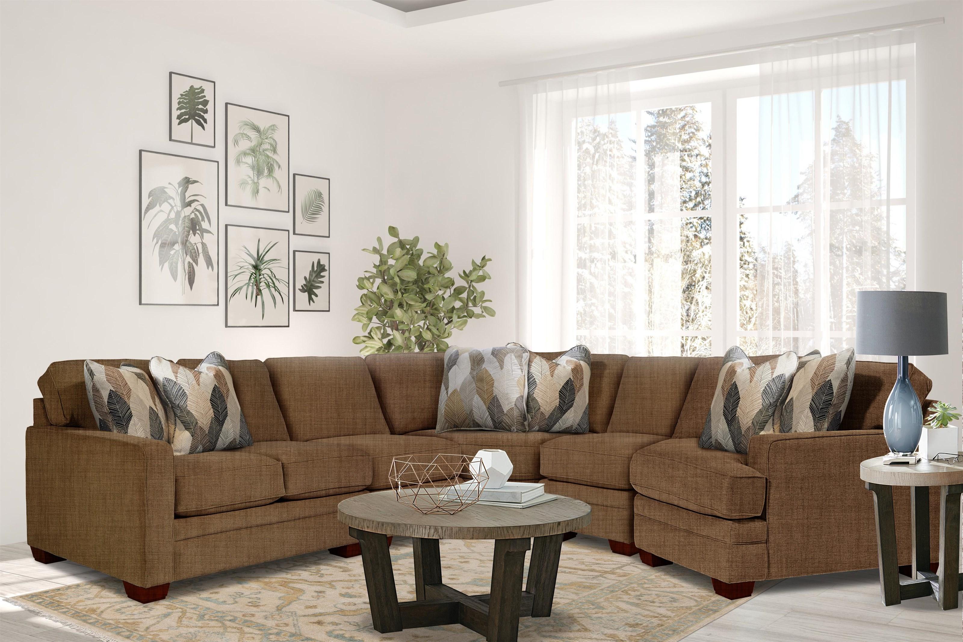Meyer Meyer Sectional Sofa by La-Z-Boy at Morris Home