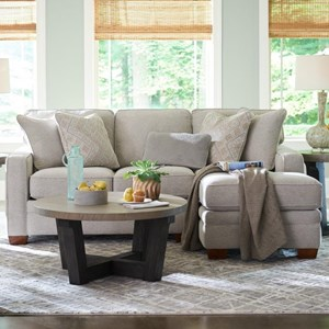 2-Pc Sectional w/ LAS Chaise