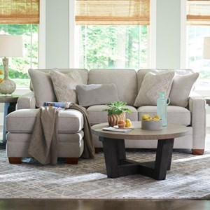 2-Pc Sectional w/ RAS Chaise