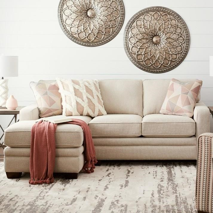 Meyer 2-Pc Sectional w/ RAS Chaise by La-Z-Boy at Sparks HomeStore