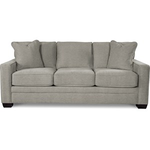 Contemporary Sofa with Premier ComfortCore Cushions