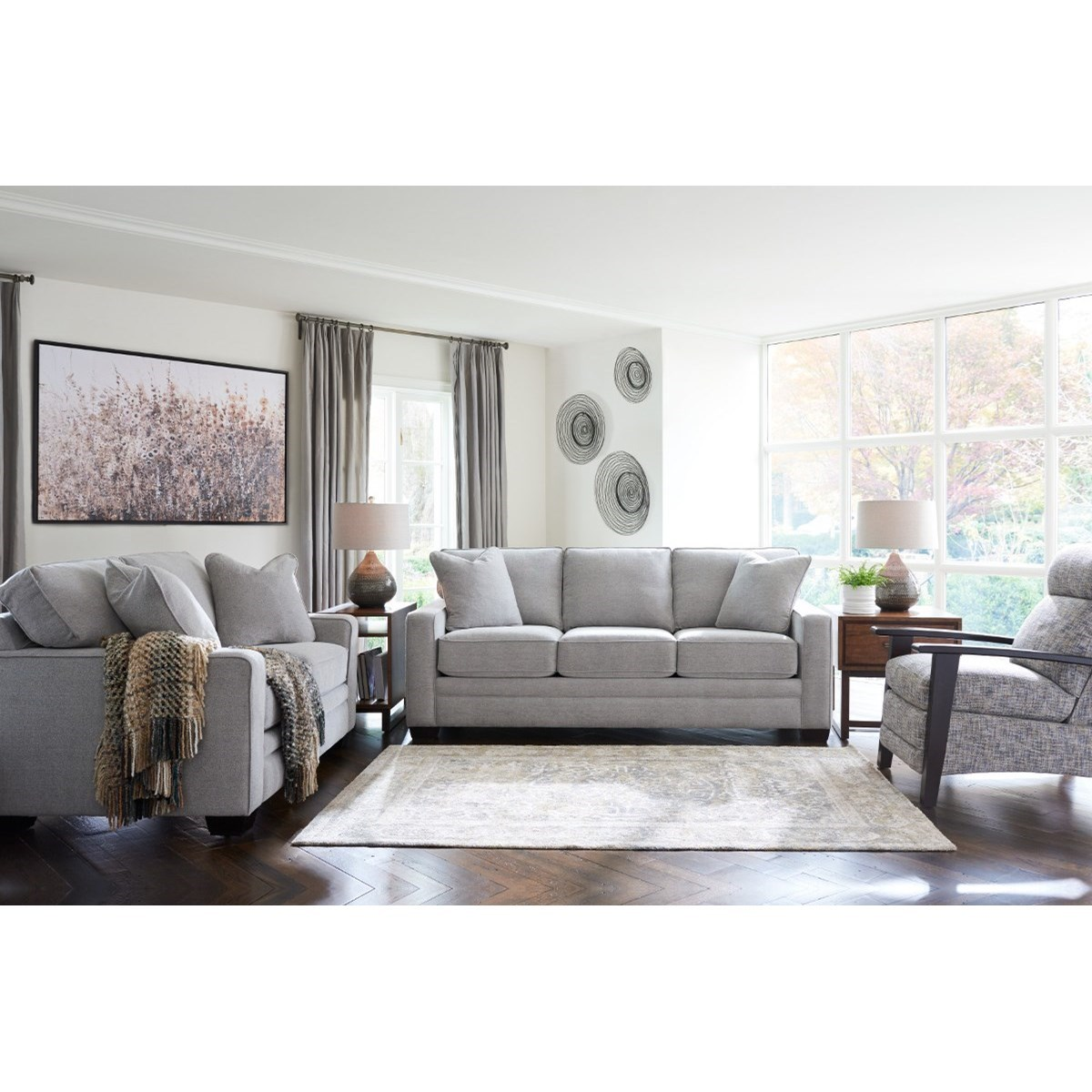 Meyer Living Room Group by La-Z-Boy at Home Furnishings Direct
