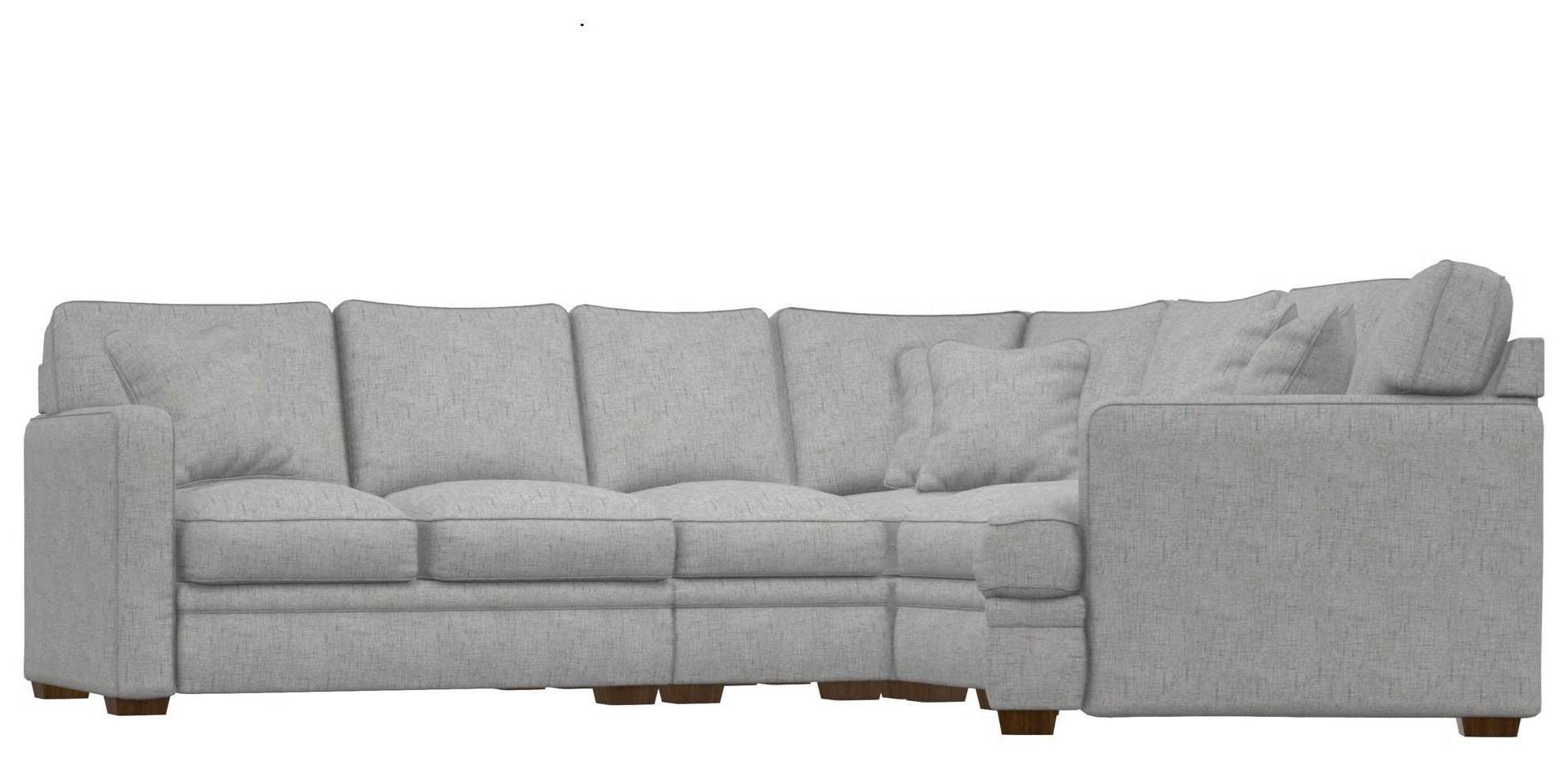 Meyer 5 Piece Sectional Sofa by La-Z-Boy at Johnny Janosik
