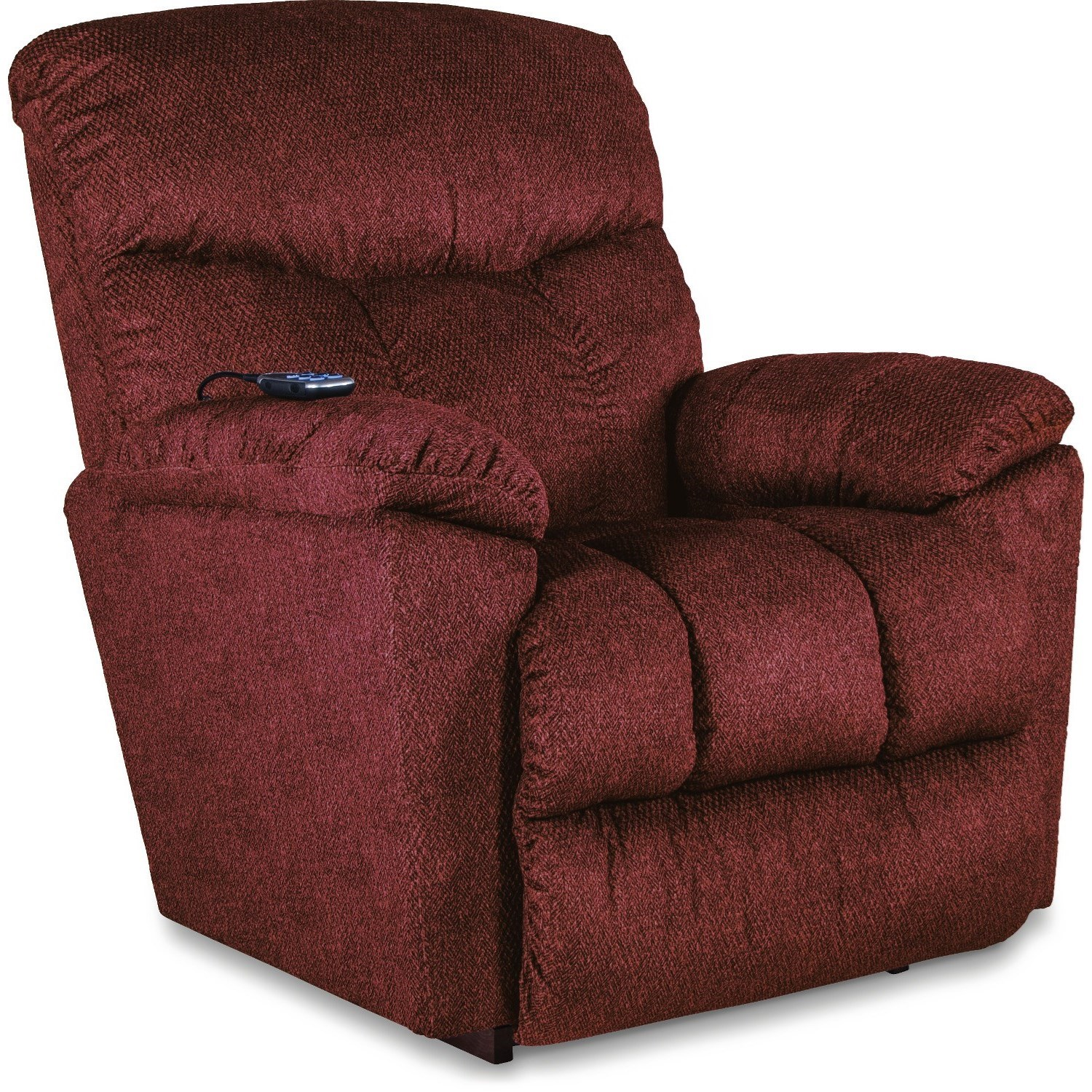 Morrison Power Wall Recliner w/ Headrest & Lumbar by La-Z-Boy at VanDrie Home Furnishings