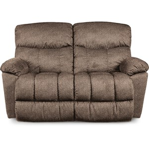 Casual Reclining Loveseat