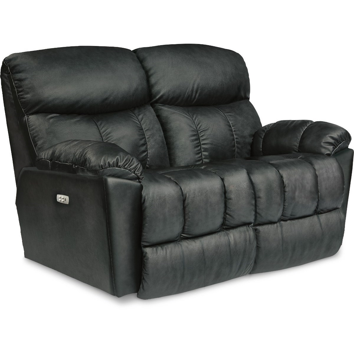 Morrison Power Reclining Loveseat w/ Pwr Headrests by La-Z-Boy at Bennett's Furniture and Mattresses