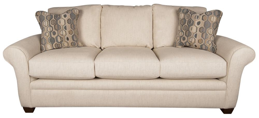 Natalie Natalie Casual Sofa with Accent Pillows by La-Z-Boy at Morris Home