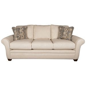 Natalie Casual Sofa with Accent Pillows