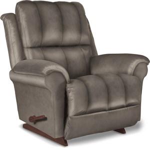 Power Rocking Recliner w/ Headrest & Lumbar
