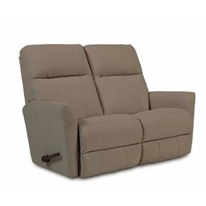 Contemporary Wall-Saver Reclining Loveseat