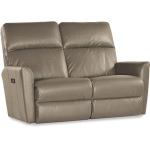 Contemporary Power-Recline-XRw™ Wall-Saver Reclining Loveseat