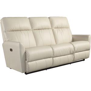 Contemporary Power-Recline-XRw™ Wall-Saver Reclining Sofa