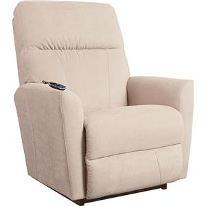 Contemporary 2-Motor Massage & Heat Rocking Recliner with Infinite Position Power