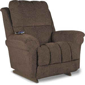 Casual PowerReclineXR+ Rocker Recliner with Power Tilt Headrest and Power Lumbar