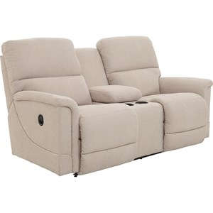 Reclining Loveseat with Cupholder Storage Console