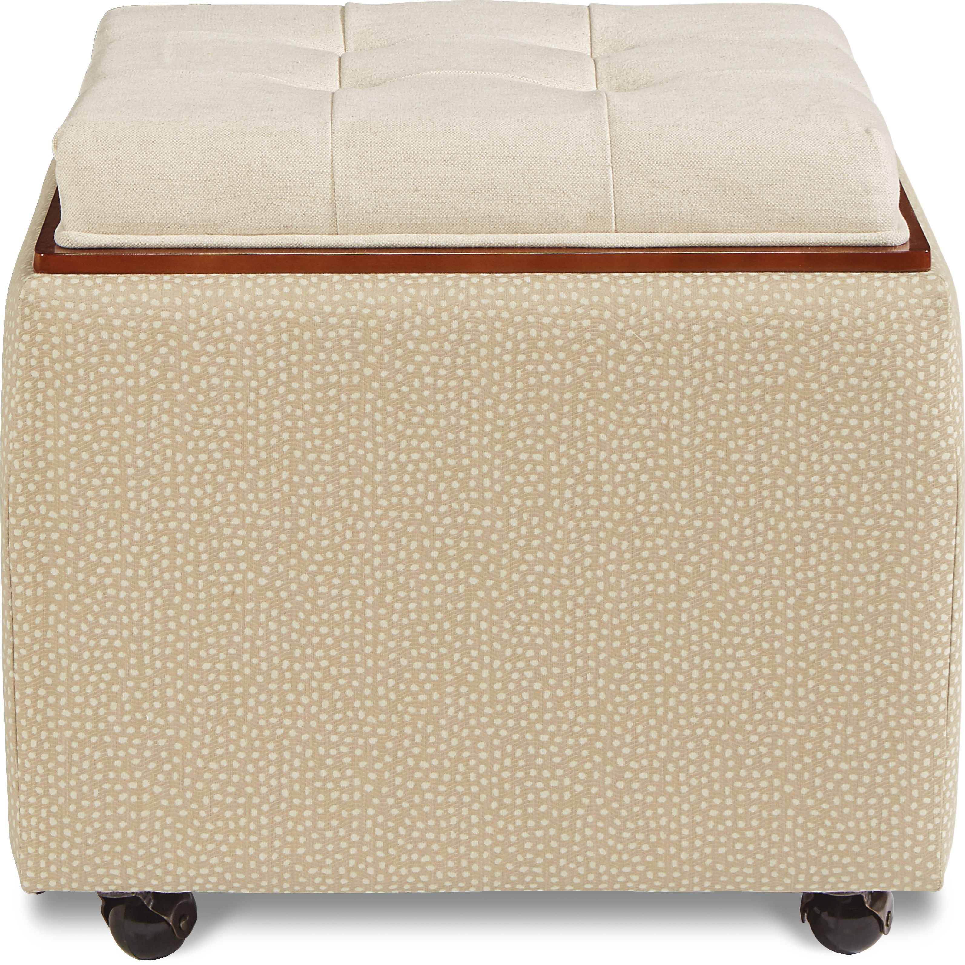 Ottomans  Leo Ottoman by La-Z-Boy at Bennett's Furniture and Mattresses