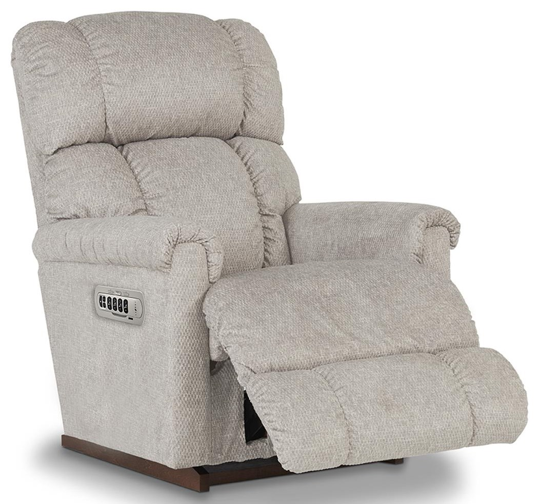 Pinnacle POWER RECLINER With POWER HEADREST, LUMBAR by La-Z-Boy at Johnny Janosik